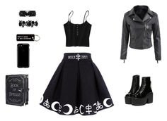 """""""Untitled #15"""" by anastasiatotokotsi on Polyvore featuring Current Mood, Speck and Various Projects"""
