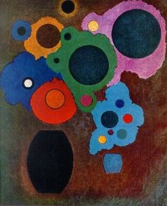 Wassily Kandinsky: Sky Blue (1940)