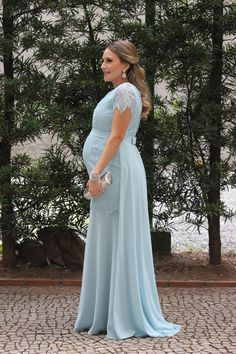Vintage V Neck Long Chiffon Maternity Dress 2017 New Arrival Woman Party Dresses for Pregnant Woman Custom Made 2017 Elegant Maternity Dresses, Cute Maternity Outfits, Maternity Gowns, Stylish Maternity, Pregnancy Outfits, Maternity Fashion, Dresses For Pregnant Women, Party Dresses For Women, Gala Dresses