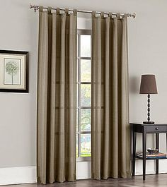 918 Jacob Tab Top Window Curtain