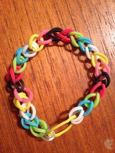 My rainbow bracelet / BFF bracelet
