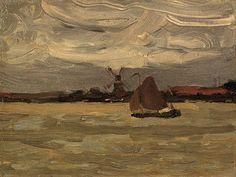 The Estuary. c 1892-96