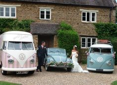 Florence our VW camper ice~cream van & friends...♡ http://www.pollys-parlour.co.uk/