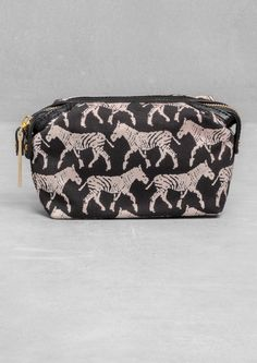 & Other Stories | Zebra Small Vanity Bag