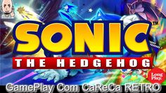 GamePlay COMPLETO - Sonic the Hedgehog - Mega Drive