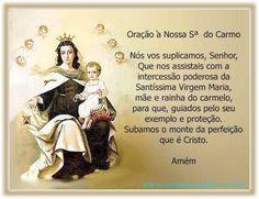 LINDOS RECADOS: Oração-a-Nossa-Senhora-do-Carmo.