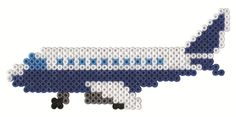 Airplane Airport Hama Fuse Beads