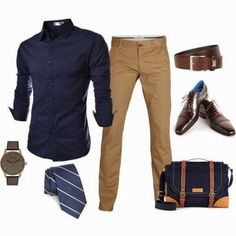 Mens business casual outfits @ http://gostylebar.com. Your #StyleSidekicks are waiting.
