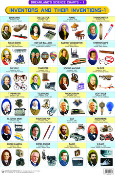 50 Inventions and Their Inventors | Inventors & their Inventions - 1 [81-7301-908-8]- by N.A. - - Rs.100 ...