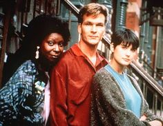 The film about the ghost of a murdered man (Swayze), who uses the talents of a spirited spiritualist (a role that won Whoopi Goldberg an Oscar) to communicate with his heartbroken girlfriend (Moore), has gained an almost cult-like following in the 21 years since its release.