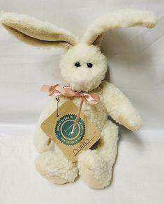 best website a860d bf68c Boyds Bears Donna White Rabbit Mini Plush 8