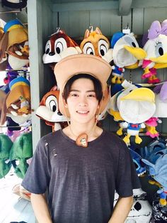 Hope jaehyun had fun at disneyland!!