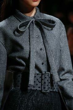 Waist cinchers go dotty. Rochas - Fall 2015 Ready-to-Wear