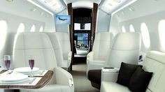 Private Jet Luxury Interiors