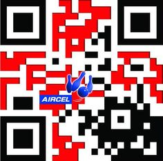 Aircel did an amazing social media campaign with designer QR codes during the World Bowling championship