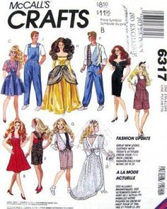 Free Printable Doll Clothes Patterns | Free Doll Clothes Sewing Patterns | Doll Clothing Patterns | 18 inch ...