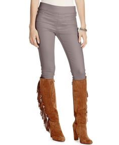 Lauren Ralph Lauren Petite Denim Leggings