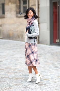 Parisian chic: these street style looks add just the right amount of French flair.