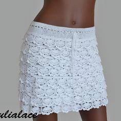 #юбка #вязанаяюбка #вязание #пряжа #yarn #crochet #skirt #summer15 #вязаниекрючком #вязаниеназаказ #одежда #одежданазаказ #knitting #cotton #wear #summerfashion #beachwear #summer2015 #white #лето2015