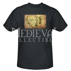 Middle Earth Map T-Shirt - ZB-3151 by Medieval Collectibles
