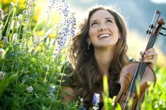 """Grammy nominated violinist Jenny Oaks Baker performs """"TimeOut for Women"""" on February 21, 2014@Davis Conference Center, Eclipse Ballroom in Layton, UT."""