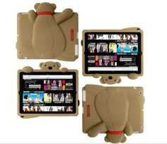 iPad Mini 4 Super Lovely & Cute Monkey iPad pro Soft Silicone Case for iPad mini 4 3 2 1 Teddy Bear Cartoon, Mini Teddy Bears, Ipad Mini Cases, Ipad Case, Ipad Accessories, Cute Monkey, Backpack For Teens, Teen Backpacks, School Backpacks