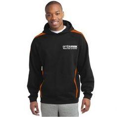 Sport-Tek® - Sleeve Stripe Pullover Hooded Sweatshirt