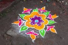 Risultati immagini per fiori rangoli