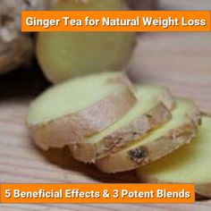 Here's 5 different ways ginger helps you lose weight, when to drink it and 3 special ginger tea blends that enhance its thermogenic properties and taste great Stay Healthy, Healthy Drinks, Healthy Habits, Healthy Food, Healthy Eating, Healthy Recipes, Natural Remedies For Bloating, Cold Home Remedies, Natural Health Remedies