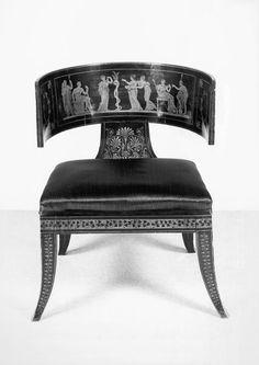 Kismos Chair - made in Italy, 1800-1820 | www.bocadolobo.com/ #diningroomideas #chairideas