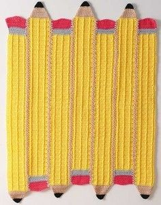 Crocheted-Pencil-Afghan - to get to the free pdf click on the picture!