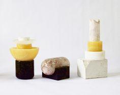 Spanish designer Gala Fernández Montero's Caro Ettore Collection, Little Sculptures (=)