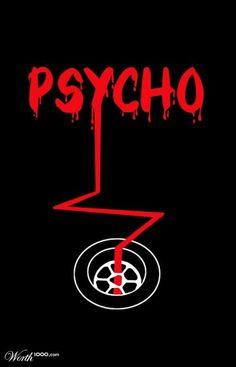 Psycho - Minimalist Poster