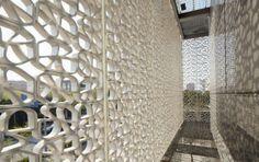 Green Energy Laboratory, Center for research in Minhang Campus of Jiao Tong University, Shanghai – China (2012). Arquitectura, Archea Associati en colaboración con Favero & Milan ingegneria. Fotografías, Charlie Xia