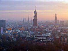 Sehnsucht Hamburg.
