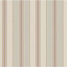 York Wallcoverings Beige Gray-Green and Caramel Strippable Prepasted Classic Wallpaper