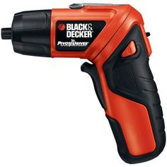 The Black & Decker PivotDriver Two-Position Cordless Screwdriver is an innovative tool that's perfect for driving screws in tight spaces. Black & Decker Cordless Twist Screwdriver With Light Ring by Custom Made.