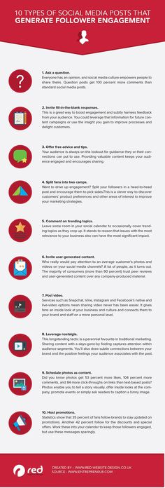 10 Types of Posts to Help You Stand Out Online [Infographic]   Social Media Today