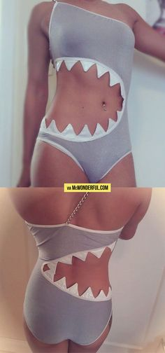 The Sharkini…gahhhhh, I have to have this!! Plus Shark Week is almost here!!!!!
