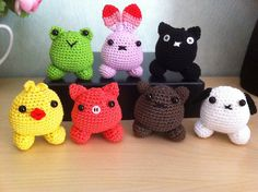 Customer Image Gallery for Puffy Pals Amigurumi Crochet Pattern (Easy Crochet Doll Patterns)