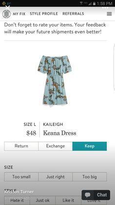 Stitch Fix Kaleigh Keana Dress Off Shoulder