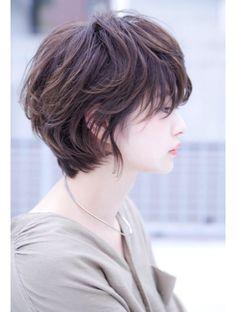 ロジッタ(ROJITHA) 【ROJITHA】シフォンベージュ×ゆるふわショート