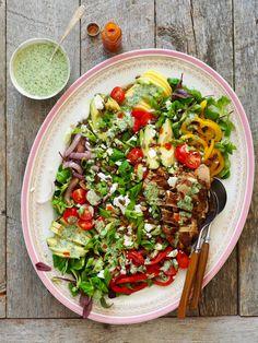 One pot wonder - lettvint gryterett - Mat På Bordet Pasta Med Pesto, One Pot Wonders, Wrap Sandwiches, Cobb Salad, Nom Nom, Salads, Food And Drink, Pizza, Healthy