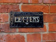 Post here by Charmian S Berry - In the wall of a deserted building