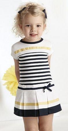 vestido de tablas marinero