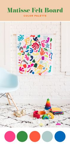 DIY Matisse Felt Board - The House That Lars Built
