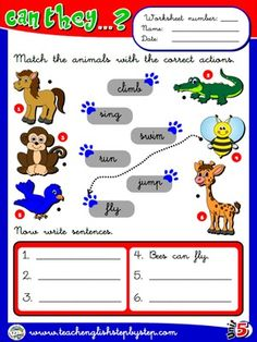 Abilities - Worksheet 1