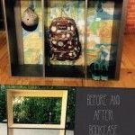 Mommy Moments: Bookcase Turned Locker DIY!