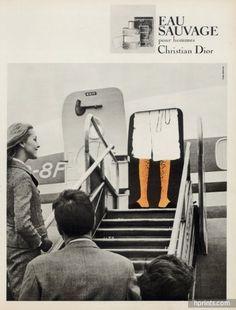 Christian Dior — Perfumes — vintage French original adverts