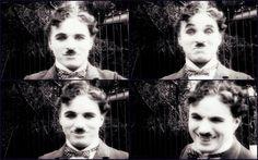Charlie Chaplin on the set of City Lights